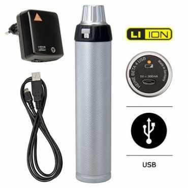 Conjunto de diagnóstico HEINE K 180 com USB BETA 4