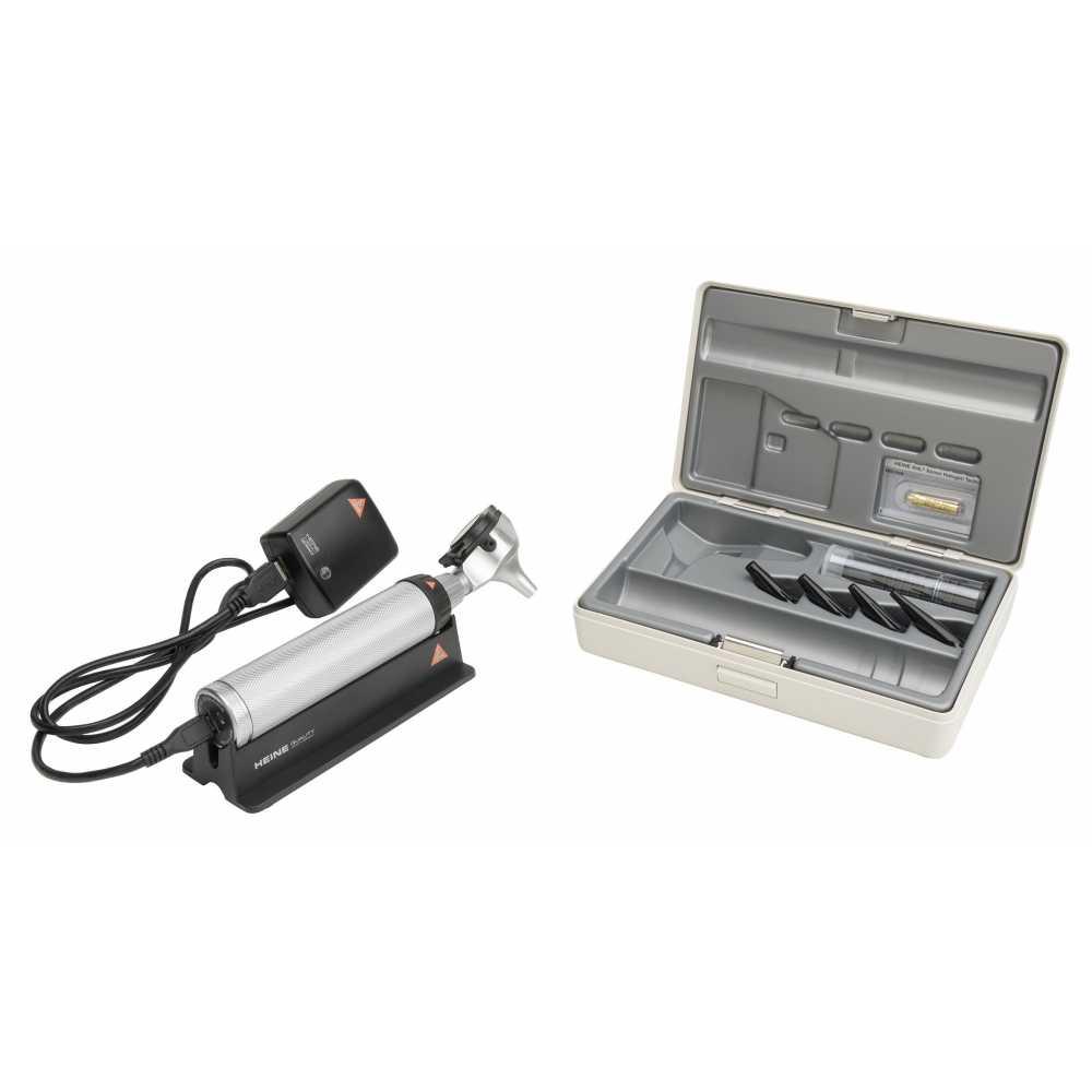 Ensemble d'otoscopes HEINE BETA 200 avec BETA 4 USB