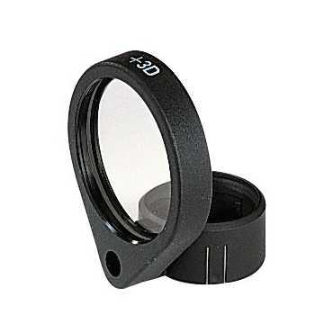 Solo accesorio para objetivo HEINE + 3 D