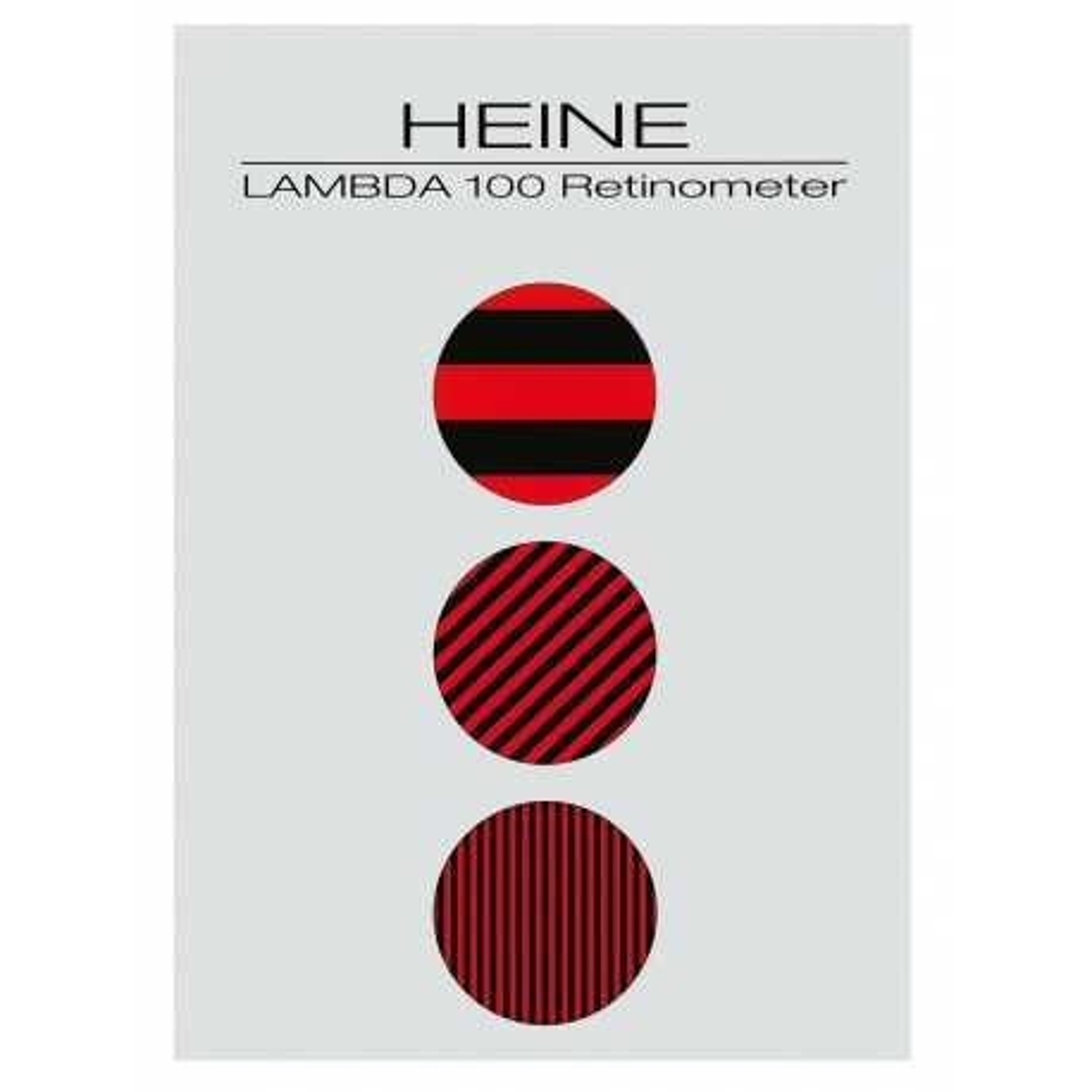 HEINE Patient card LAMBDA 100 Retinometer