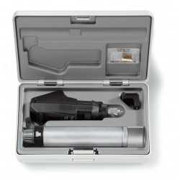 Conjunto de retinoscópio HEINE BETA 200 BETA4 NT com carregador de mesa NT4