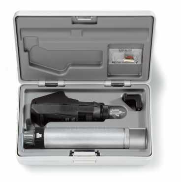Juego de retinoscopios HEINE BETA 200 BETA4 NT con cargador de mesa NT4