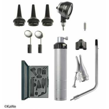 Otoscópio KaWe BASIC-Set COMBILIGHT C10 e acessórios