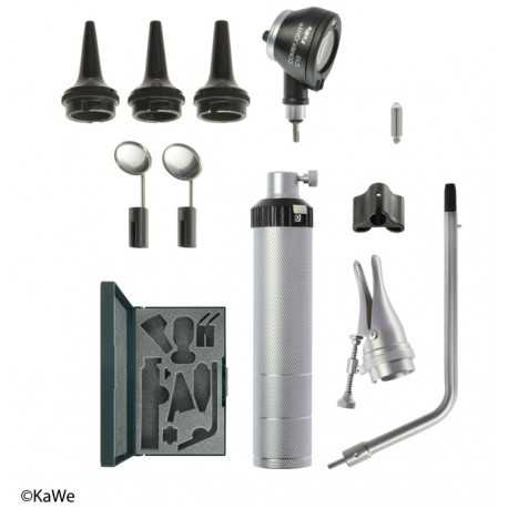 KaWe BASIC-Set COMBILIGHT C10 otoscope and accessories