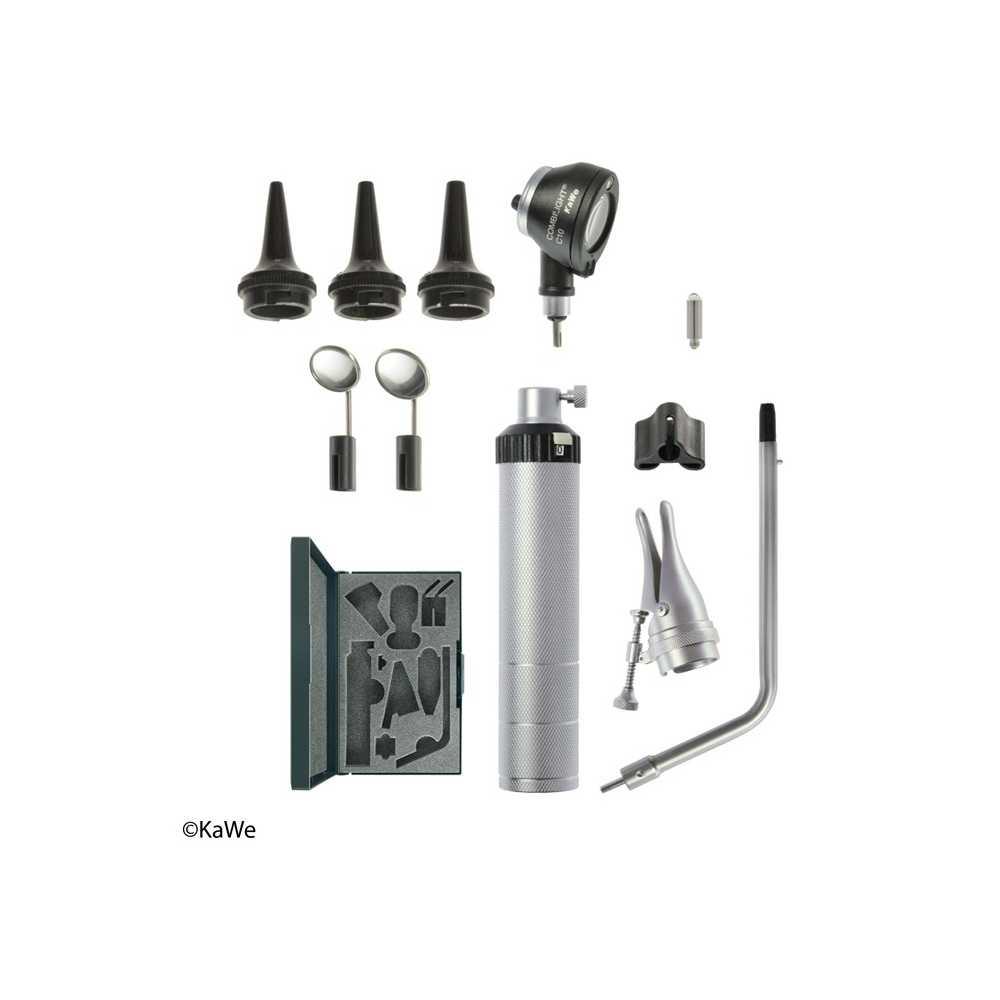 Otoscopio y accesorios KaWe BASIC-Set COMBILIGHT C10