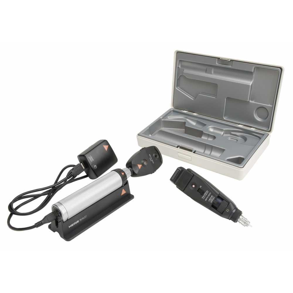 Conjunto de diagnóstico oftálmico HEINE BETA 200 LED BETA 4 USB +