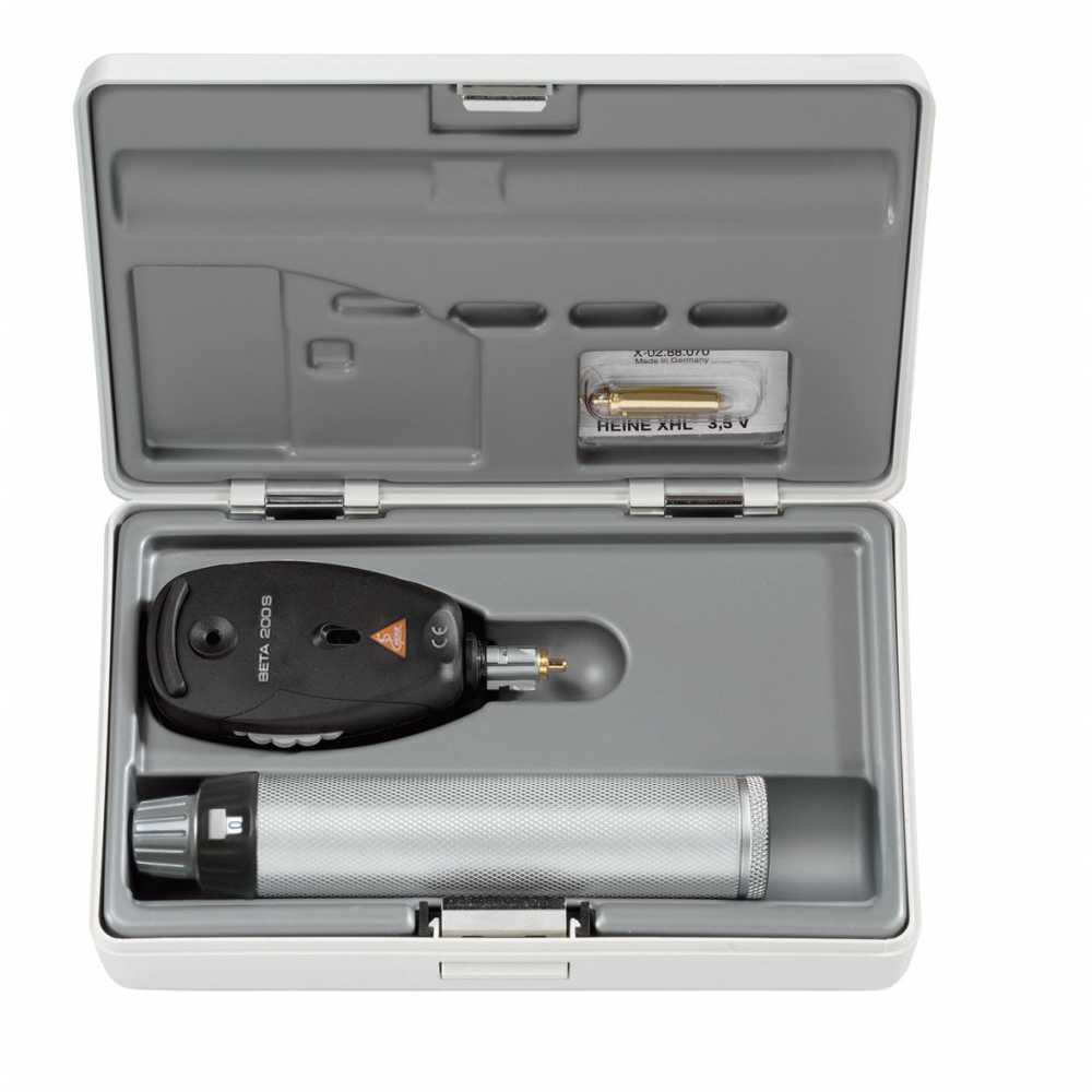 Conjunto de oftalmoscópio HEINE BETA 200 S