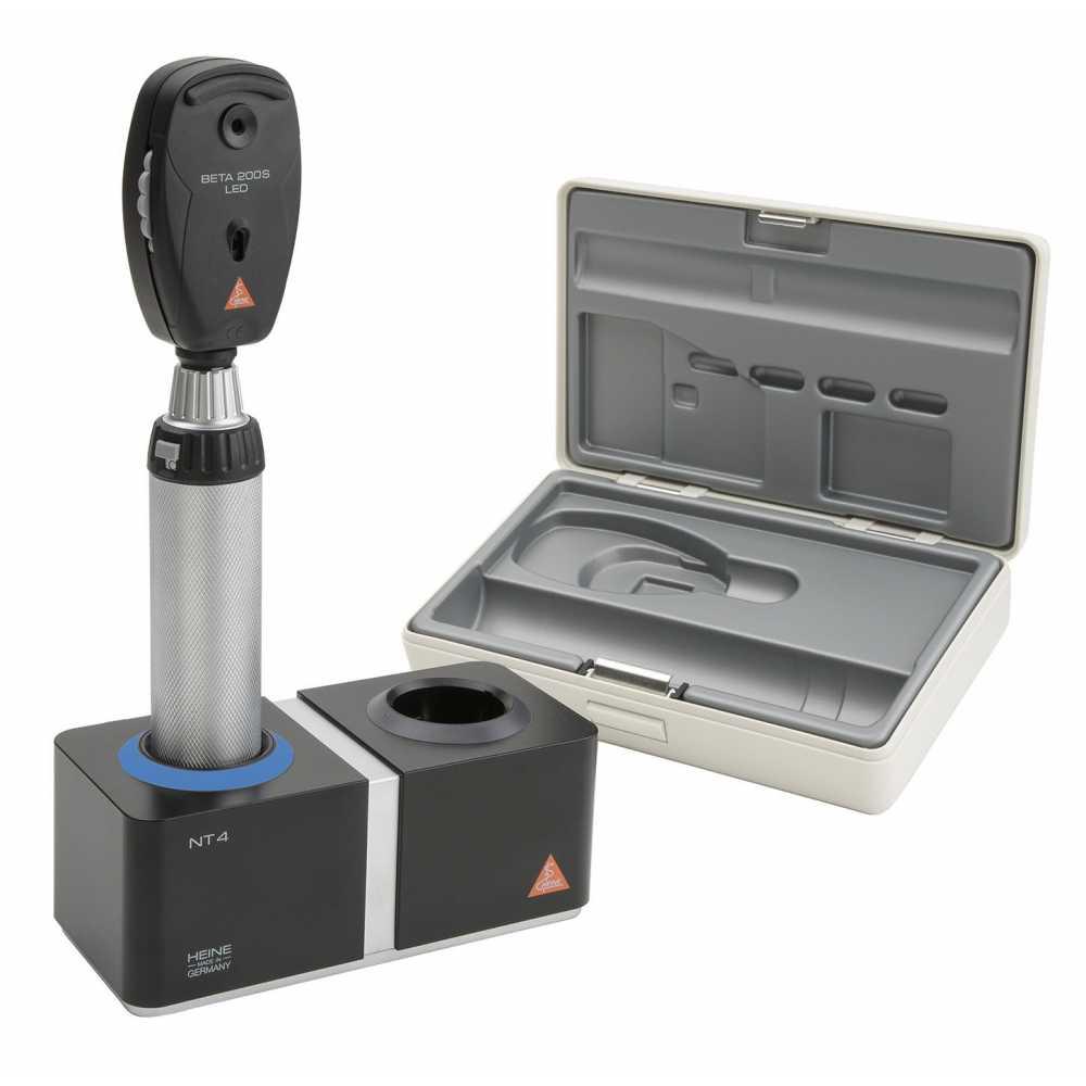 Set de oftalmoscopio LED HEINE BETA 200 S BETA 4 NT