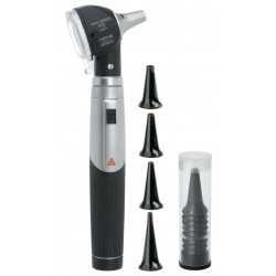 HEINE mini 3000 LED F.O. Otoscope with handle + tips