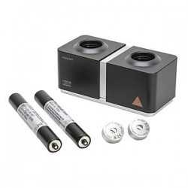 Set caricabatterie HEINE mini NT con 2 manici