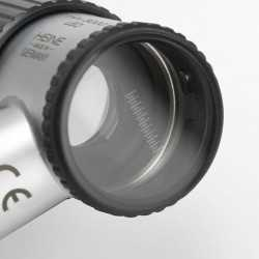 HEINE mini 3000 LED Dermatoscópio com alça e escala