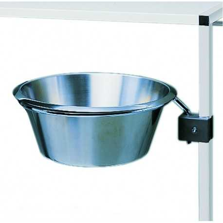 HAEBERLE waste container with s/s bowl