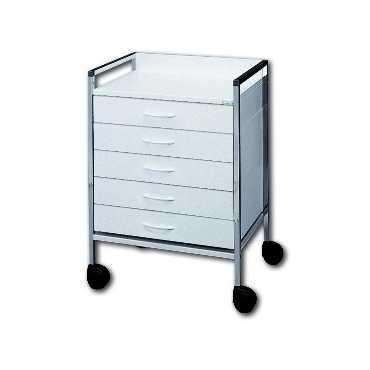 HAEBERLE Variocar-Viva 45 basic trolley 5 drawers