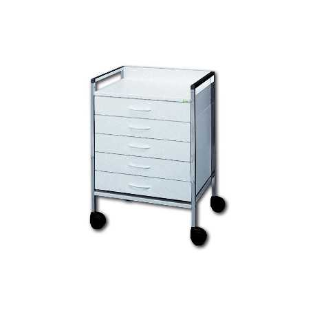 HAEBERLE Variocar-Viva 45 basic trolley 5 drawers