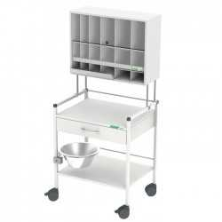 HAEBERLE 08/16 treatment trolley 60 COMPACT