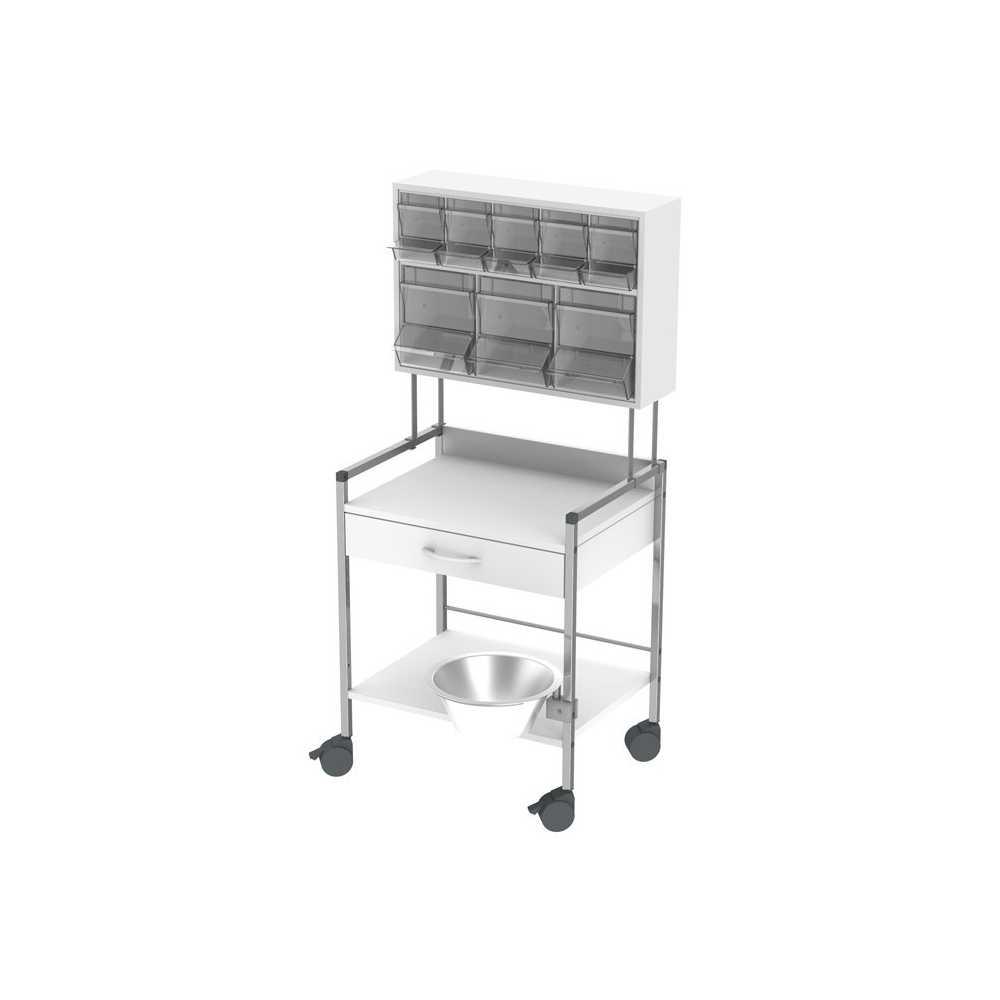 HAEBERLE Variocar 60 treatment trolley PicBox multi