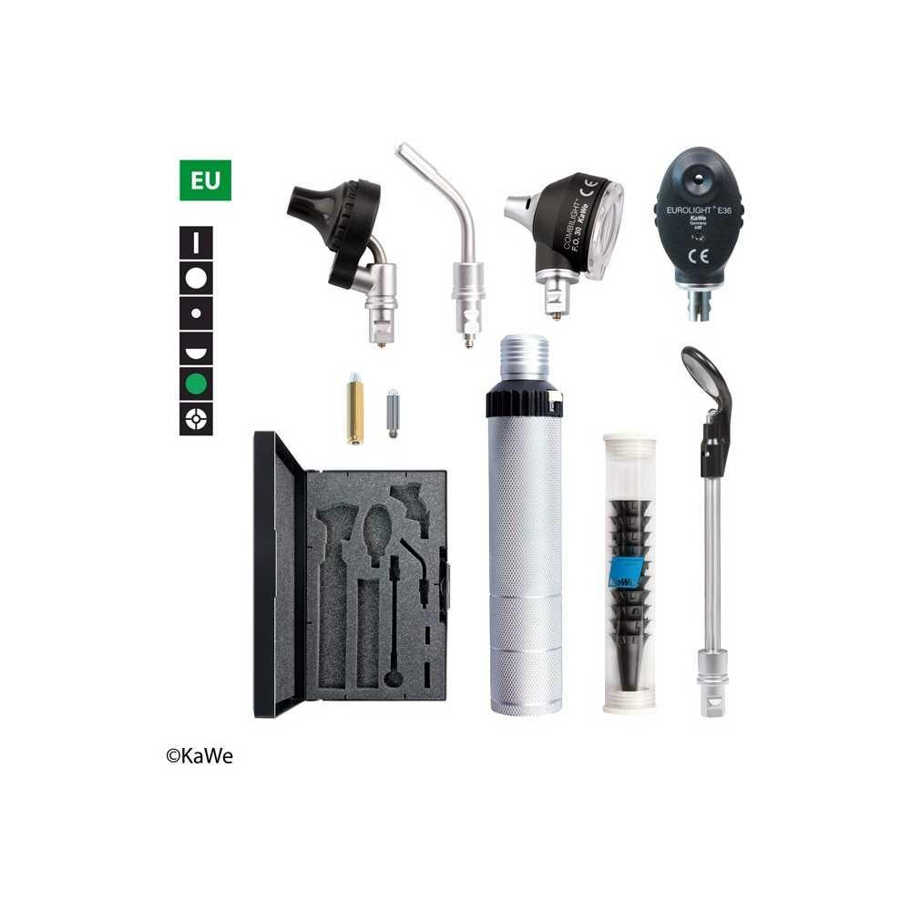 Kit de diagnóstico KaWe COMBILIGHT FO30 / E36 Finoff de 2,5 V