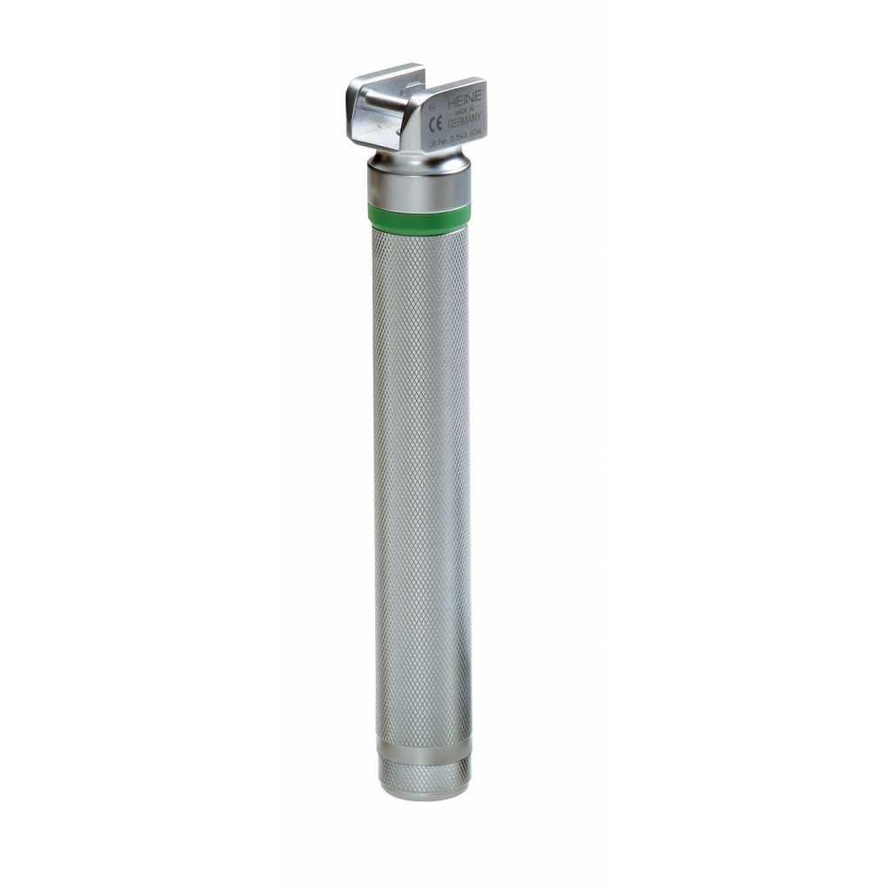 Poignée de laryngoscope HEINE Small FO LED 2,5V NiMH, complète