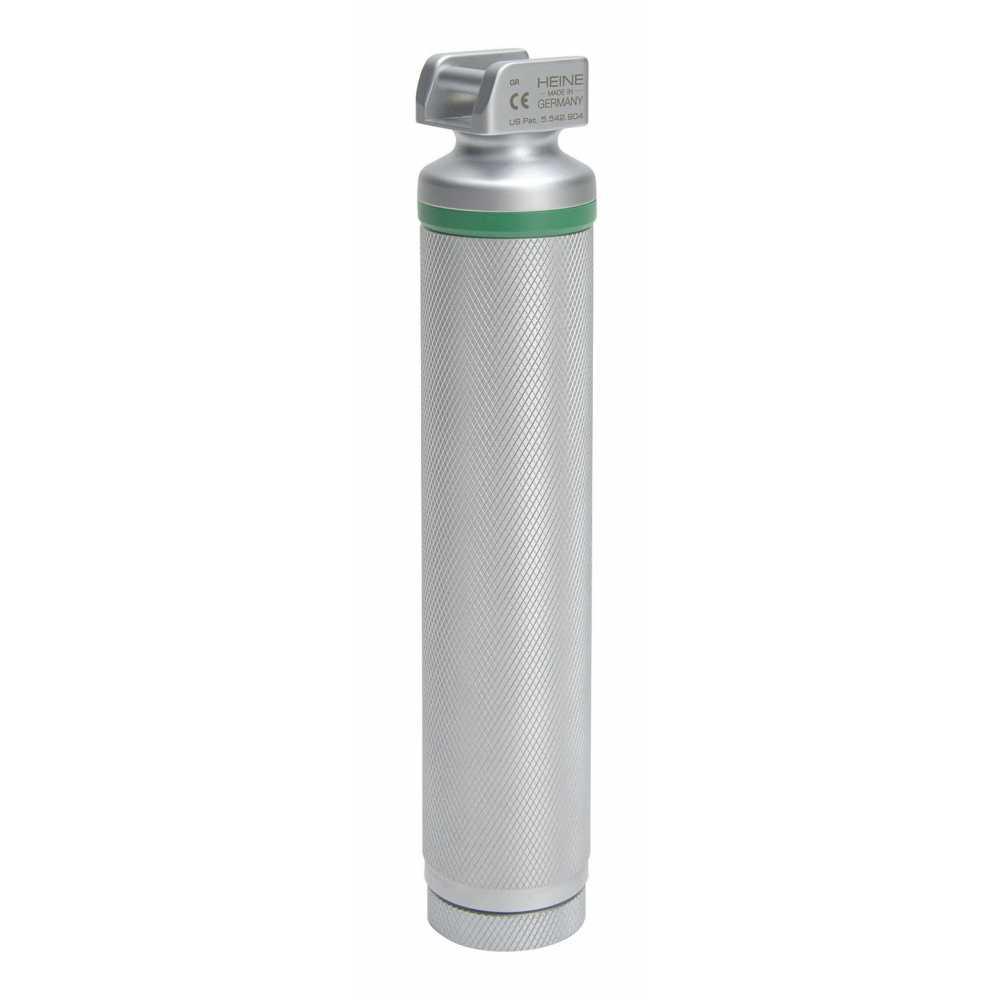 Poignée à piles pour laryngoscope HEINE Standard FO LED 2,5V