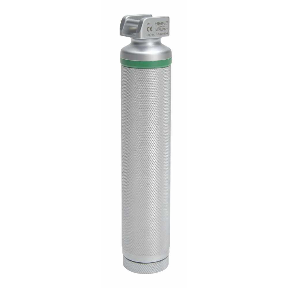 Mango de laringoscopio HEINE Standard FO 4 LED NT de iones de litio de 3,5 V