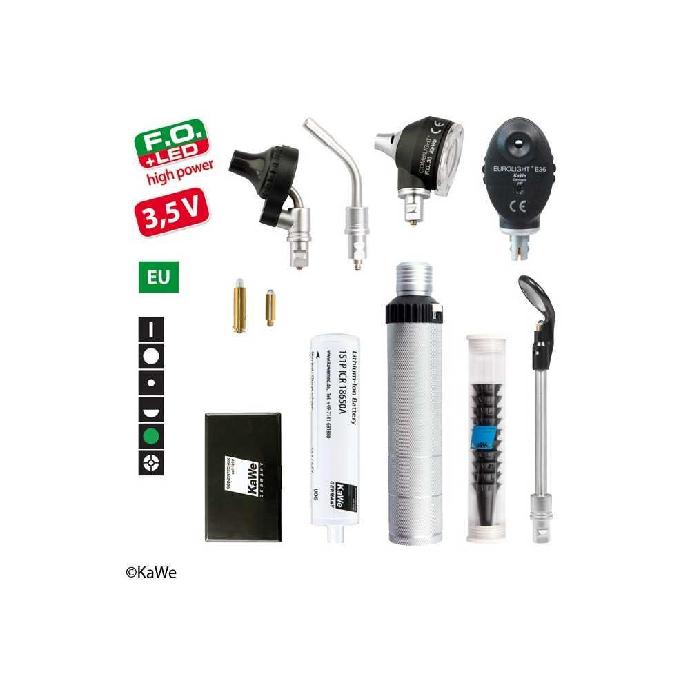 Kit de diagnóstico KaWe COMBILIGHT FO30 LED / E36 Finoff de 3,5 V
