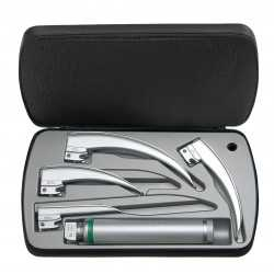 Ensemble de laryngoscopes HEINE Classic + à fibre optique (FO) 2,5 V