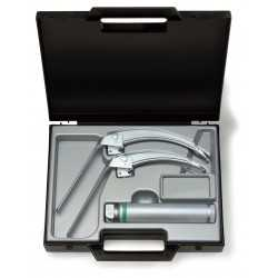 Ensemble de laryngoscopes HEINE FlexTip + FO avec lame Mac 3 + 4