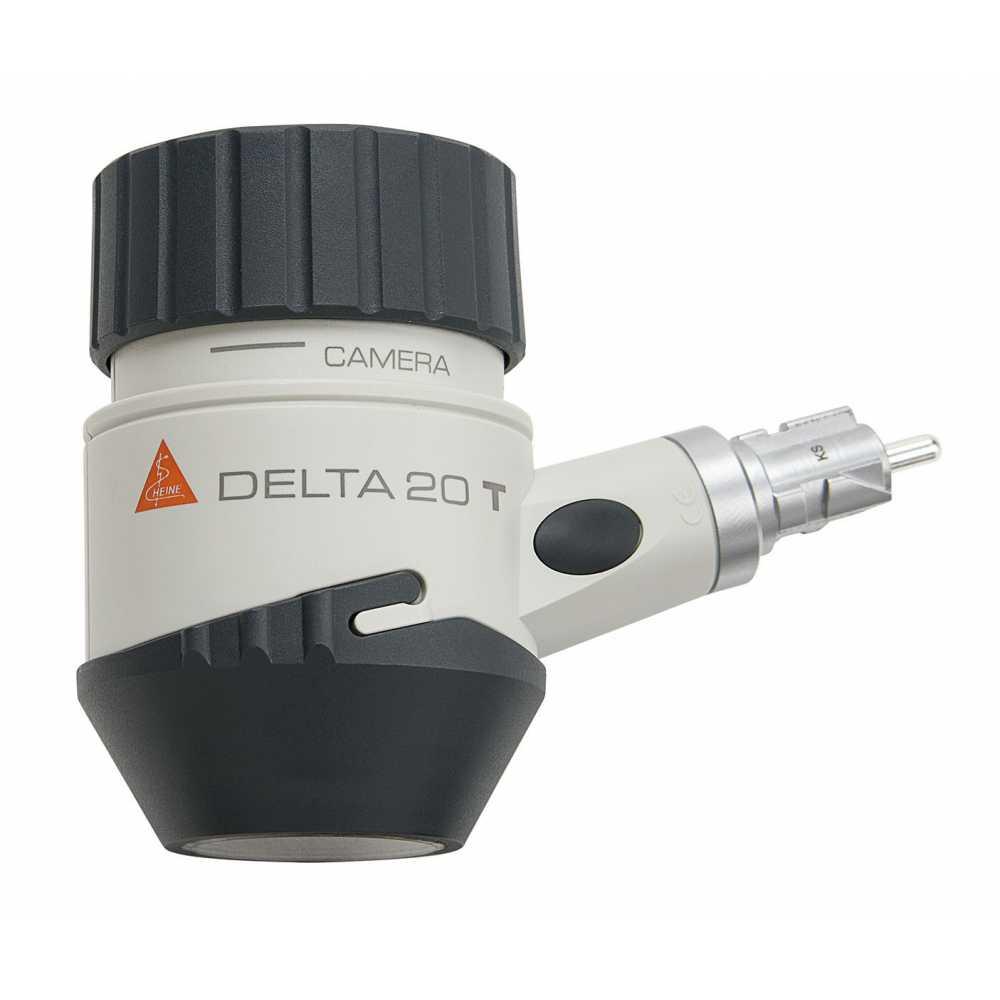 Dermatoscopio HEINE DELTA 20 T con placa de contacto con escala