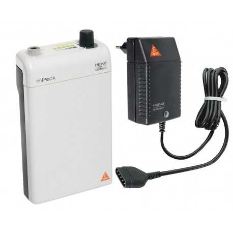 HEINE mPack with rechargeable battery and transformer
