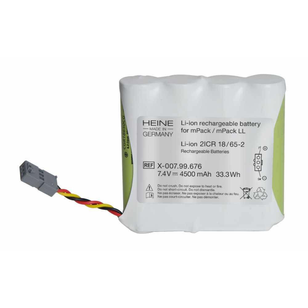 Batería recargable de iones de litio HEINE para mPack / mPack LL