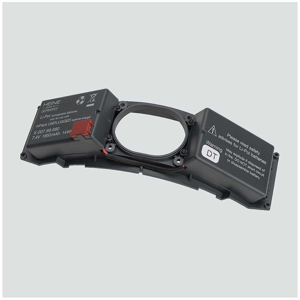 Batería recargable HEINE para mPack UNPLUGGED