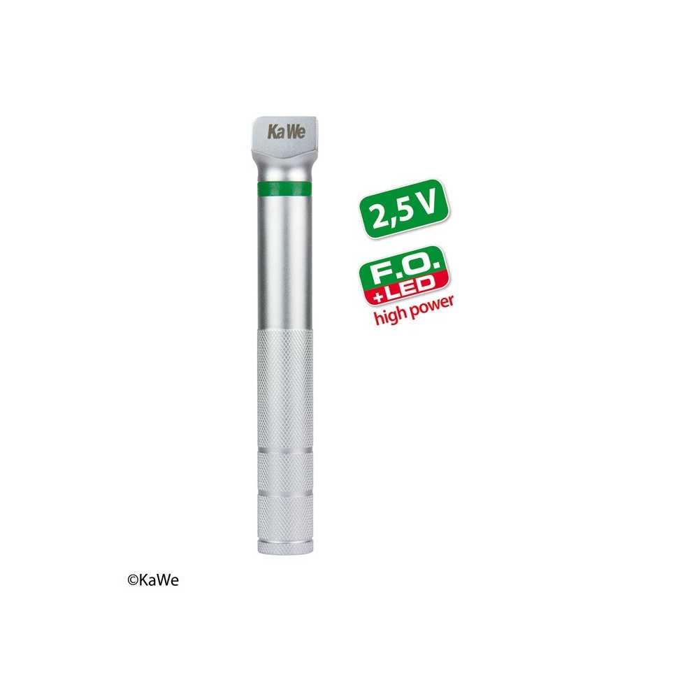 Mango a batería KaWe FO LED de alta potencia pequeña 2.5 V