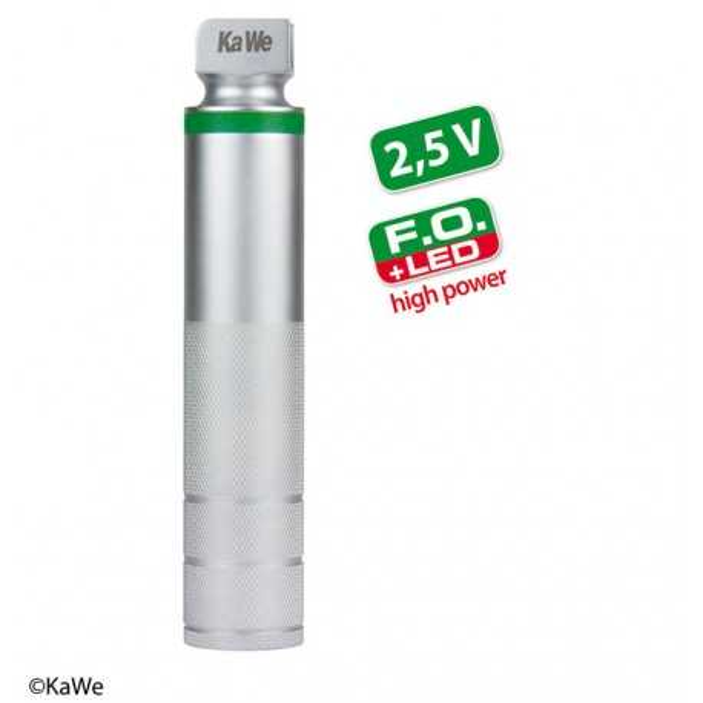 Cabo de bateria KaWe FO LED de alta potência para laringoscópio