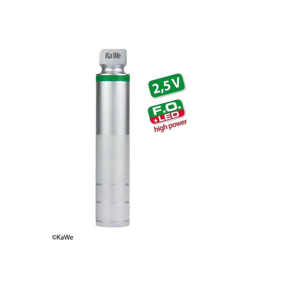 Poignée de batterie KaWe FO LED haute puissance pour laryngoscope