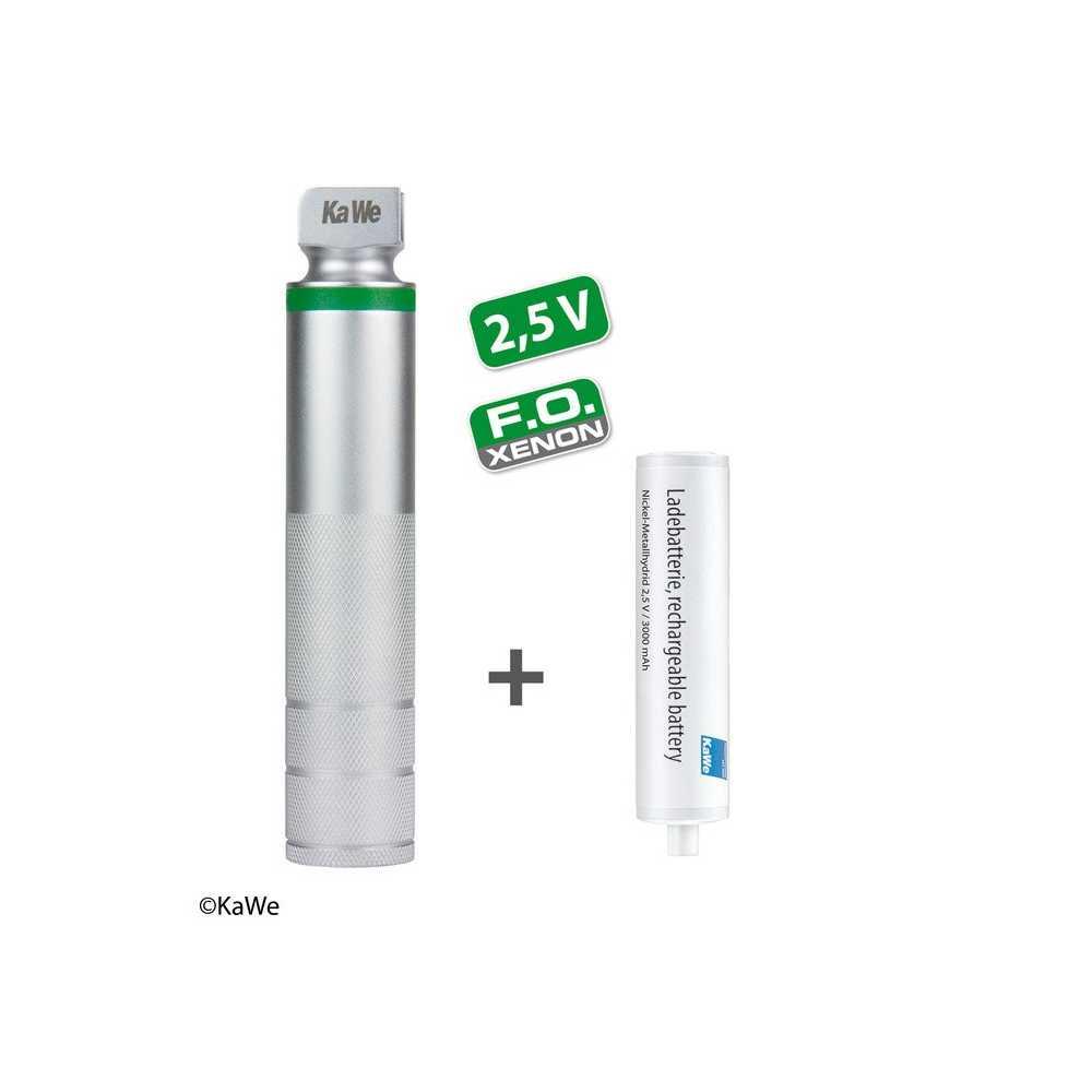 KaWe FO manche moyen pour laryngoscope NiMH 2,5 V