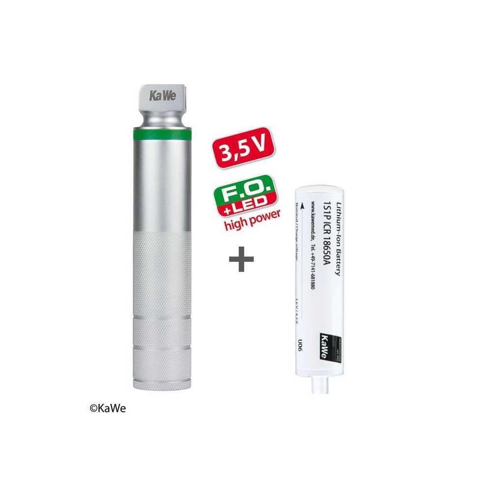 Asa de carga KaWe FO LED de alta potencia para laringoscopio