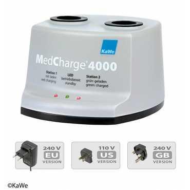 Estación de carga KaWe MedCharge® 4000