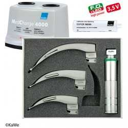 Kit Laryngoscope KaWe LED pour Adultes