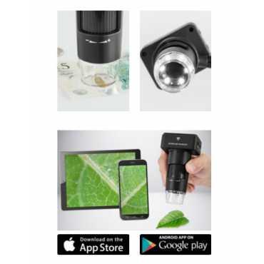 Microscopio digital WLAN KERN ODC-9