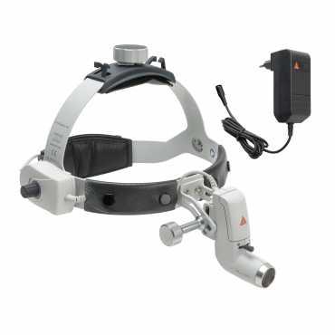 Lâmpada frontal HEINE ML4 LED com transformador plug-in