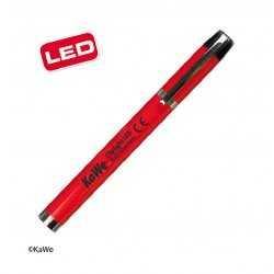 KaWe CLIPLIGHT LED diagnostic pen light, red