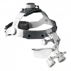 "HEINE HR loupes 2.5x /520 mm (20"") on Headband"