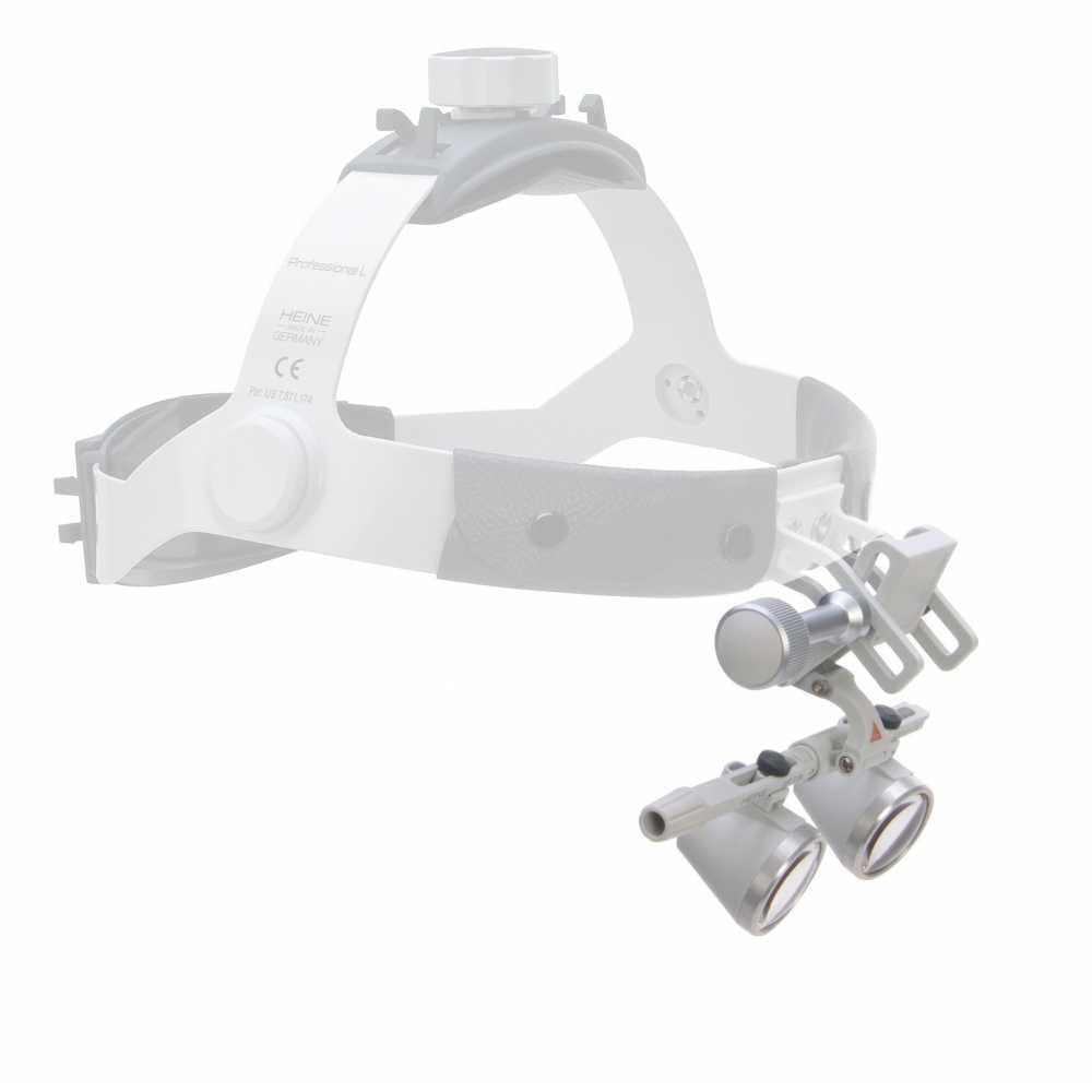 Óptica HEINE HR 2,5x / 420 para fita de cabeça