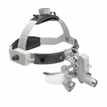 Kit de farol HEINE ML 4 LED 1 com S-GUARD e HR 2,5x / 340 mm