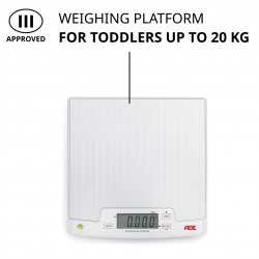 Báscula para bebés y niños pequeños aprobada ADE M10100-01