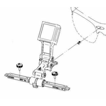 HEINE I-VIEW für professionelles L-Stirnband mit S-GUARD-Adapter
