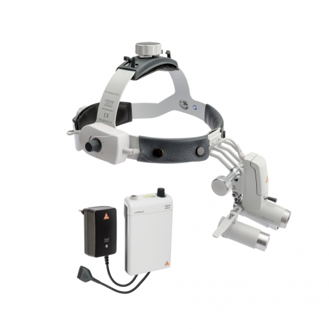 HEINE ML4 LED HeadLight Kit 3c with Binocular Loupes HRP 3.5x