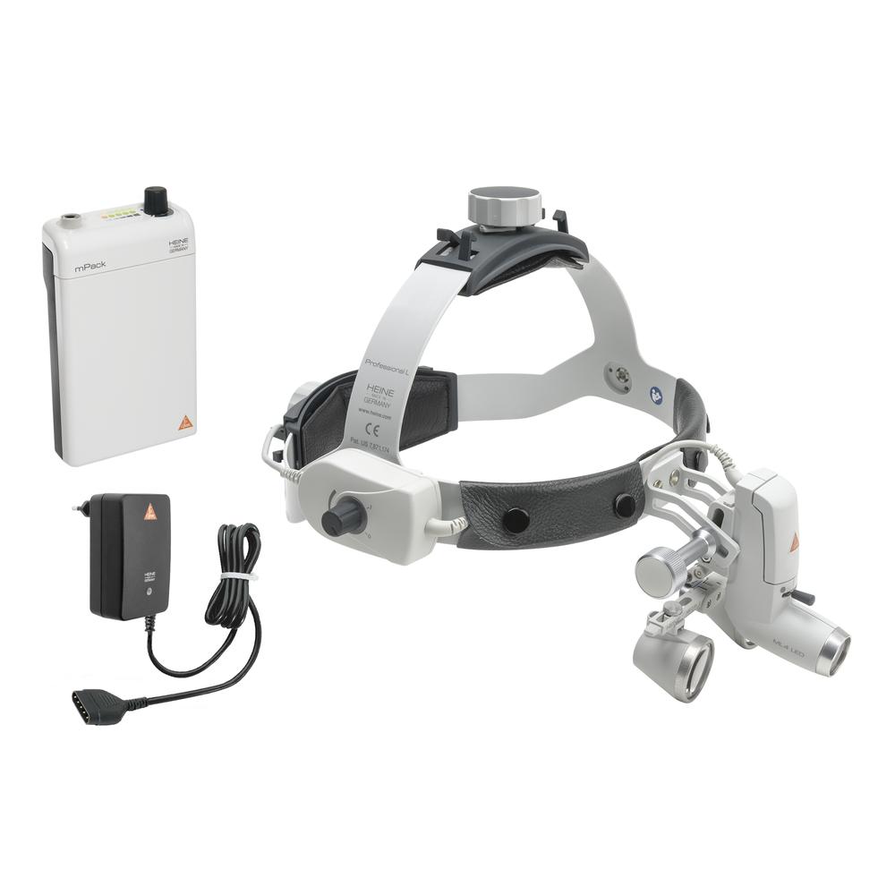 HEINE ML 4 LED Kit 1c con lupas HR 2,5x