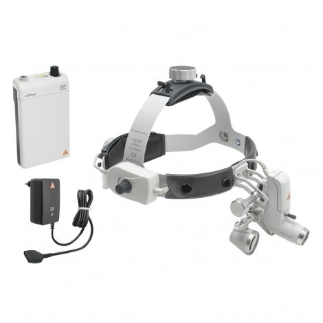 HEINE ML4 LED HeadLight Kit 1c with loupes HR 2,5x/340