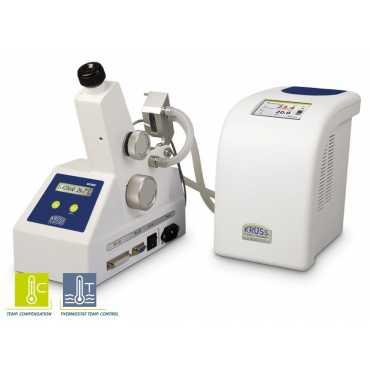 Refractómetro Abbe KRUSS AR2008 con termostato circulante PT80